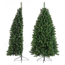 7ft Christmas Tree Uk by Tree Classics 2 1m 7ft Green Half Artificial Xmas Tree 68 99