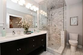 glass shower bricks wall small bathroom id677 small