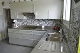 cuisine inox sur mesure fond de hotte inox sur mesure luxe plan de travail cuisine inox plan