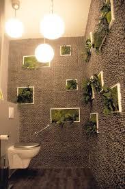 décoration toilette nature