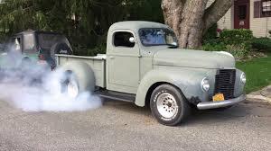 100 1947 International Truck Old Does Burnout Burnout YouTube