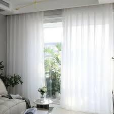 details zu 1 panel weiß gardine fliegengitter fenster behandlung für esszimmer balkon