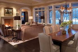 Luxury Living Dining Room Combo