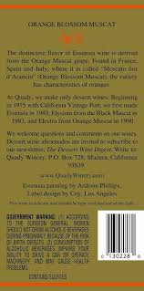 2011 quady essensia orange muscat 750ml at s wine store
