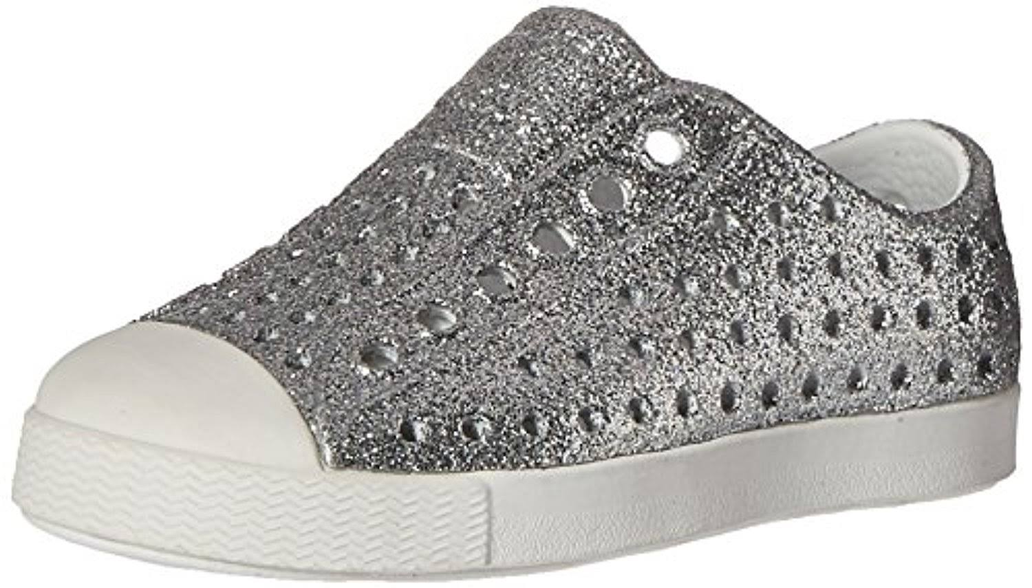 Native Jefferson Kids' Bling Shoes - Silver