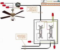 wiring diagram ceiling fan wiring a ceiling fan with two