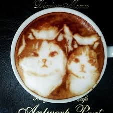 Via Catsparella Incredible Cat Latte Art From Japan
