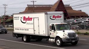 100 Ryder Truck Rental Rates Moving Truck Rental Highway Traffic Stock Video Footage
