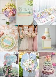 Colorful Spring Wedding Party Theme Designs Unique Ceremony
