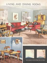 Living Room Mid Century Decor 1950s House By VintageAndNostalgia 1095