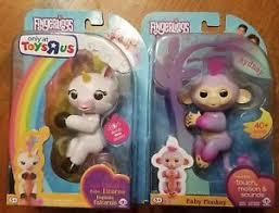 Image Is Loading Gigi Unicorn Fingerling Toys R Us Exclusive