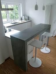 küchen theke beton jörg sander planc küche mit theke
