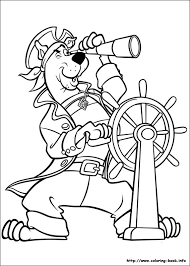 Scooby Doo Coloring Pages 12
