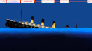 titanic sinking simulator flash game youtube