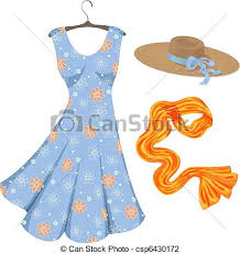 Romantic Summer Dress And Accessories