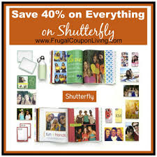 Shutterfly Coupon Code - 40% OFF EVERYTHING For The Holiday ...