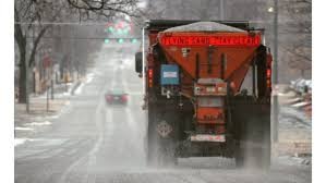 Salt Stress: Road Salt Prices Higher As Winter Looms Detroit Hiring Dozens Of Salt Truck Drivers Dicer Salt Spreaders East Penn Carrier Wrecker Garching Germany Small Truck At Work On Wintertime Editorial Lansing Hits Overpass Spills On Road Gps Devices Added To The Arsenal Snowfighting Equipment I See They Wont Make Same Mistake Twice Nyc 2009 Freightliner Dump Truck With Swenson Salt Spreader Eastern Surplus Food The Dirty Ice Cream Blog Driver Snow And Treatment Springfield Township Oh Official Website