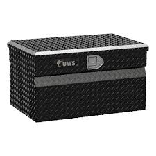 100 Black Tool Box For Truck UWS 30 In Aluminum Chest TBC30BLK The Home Depot