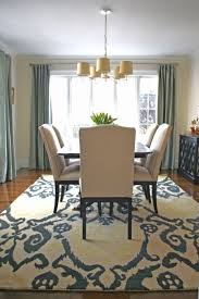 Standard Size Rug For Dining Room Table by Size Of Rug For Dining Room Photos On Fancy Home Designing Styles