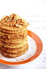 Pumpkin Cake Mix Pancakes by Vegan Pumpkin Spice Pancakes Beaming Banana