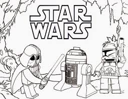 Star Wars Legos Coloring Pages Prin