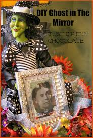 Katherines Collection Halloween Mirror by Just Dip It In Chocolate Diy Halloween Ghost In The Mirror