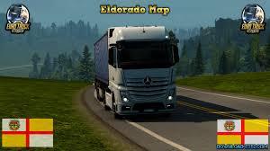 Mapa Eldorado Rodobrasil PRO (Demo) » Download ETS 2 Mods   Truck ...