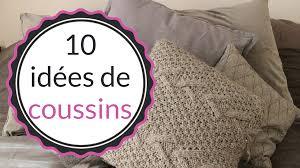 gros coussins pour canapé idées déco 10 coussins pour accessoiriser votre canapé