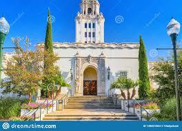 100 Angelos Landscape Beverly Hills City Hall Los California Stock Photo