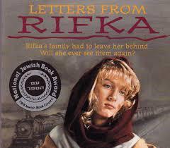 Letters from Rifka Karen Hesse 1993