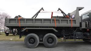 100 Dump Truck Body FileJGSDF 7t 386034 Rear Body Right Side View At Camp