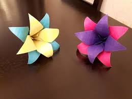 How To Make A Paper Flowers Easy