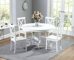 White Round Table Set Furniture Octagon Dining Pedestal The Great Glass