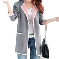 popular long knitted cardigan buy cheap long knitted cardigan lots