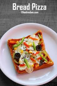 Bread Pizza How To Make Quick Easy Vegetable Recipe