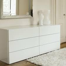 commode chambre à coucher meubles design commode blanche tiroirs commode chambre à