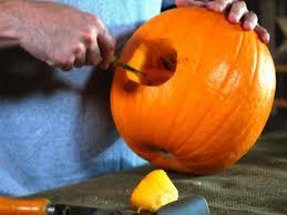 Lumpkin The Pumpkin by Halloween Pumpkin Carving A Large Pumpkin Eating A Small Pumpkin