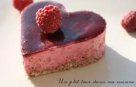 p gâteau individuel framboise et chocolat blanc un p