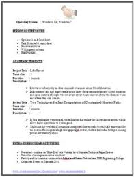 Example Of Resume Formats Page 2