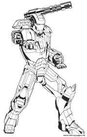 Kleurplaat Hulk Buster Ausmalbild Tony Ist Der Iron Man
