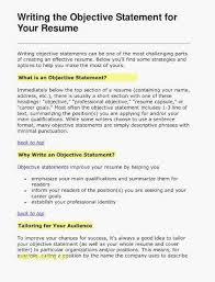 Resume Writing Workshop Luxury Best Good Job Objectives For Cv