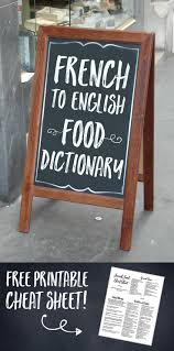Learn French Through Food Or Decode Your Favorite Restaurant Menus With