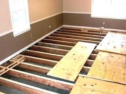 Wood Flooring Thickness For Hardwood Plywood Sub Floor Repair Install Bathroom Laminate