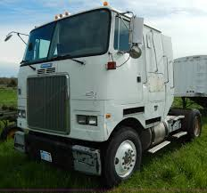 100 Gmc Semi Trucks 1992 White Semi Truck Item D8157 SOLD May 29 Ag Equ