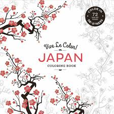 X Stunning Japanese Coloring Book