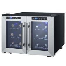 tresanti madison 24 bottle dual zone thermoelectric wine