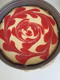 erdbeer mango swirl cake weight watchers 3 punkte kuchen