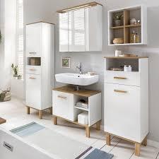 badezimmerserie padua spiegelschrank hochschrank