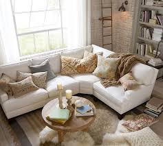 White Sectional Living Room Ideas by Best 25 White Sectional Ideas On Pinterest Modern Decor Living