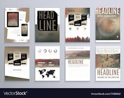 100 Modern Design Magazines Set Of Abstract Templates